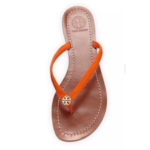 f9890ab48eb498 Tory Burch Shoes - NEW🎊🎉 TORY BURCH 10.5 TERRA ORANGE THONG SANDAL